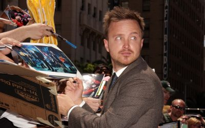 Welcome home Aaron Paul i Emily Ratajkowski